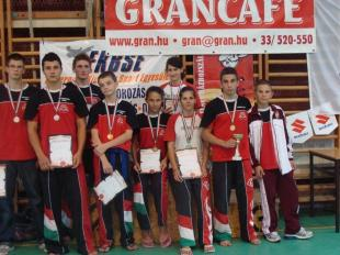 Kick Box Magyar Bajnoki döntő Esztergomban