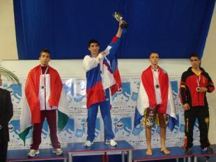 Buják Tamás ezüstérmes, Kick Box Utánpótlás EB Pula - 2009