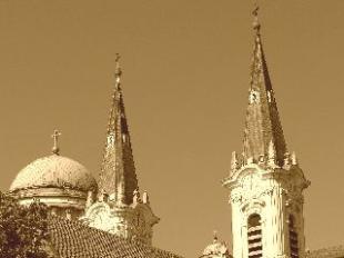 Kereszt-Rejtvény 109: vízivárosi Loyolai Szent Ignác plébániatemplom (közismertebb nevén kéttornyú templom)