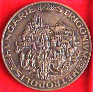 STRIGONIUM METROPOLIS HUNGARIE Bronz 1978